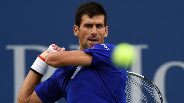 Djokovic n'a même pas eu le temps de transpirer