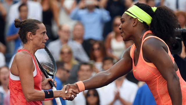 Vinci: «J'étais très heureuse, mais aussi un peu triste pour Serena»