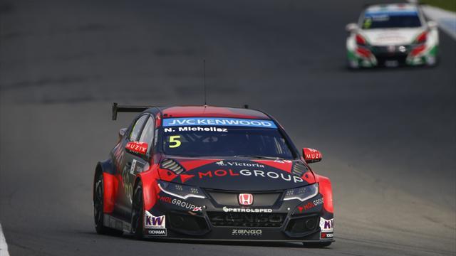 Norbert Michelisz in pole davanti a Lopez e Loeb