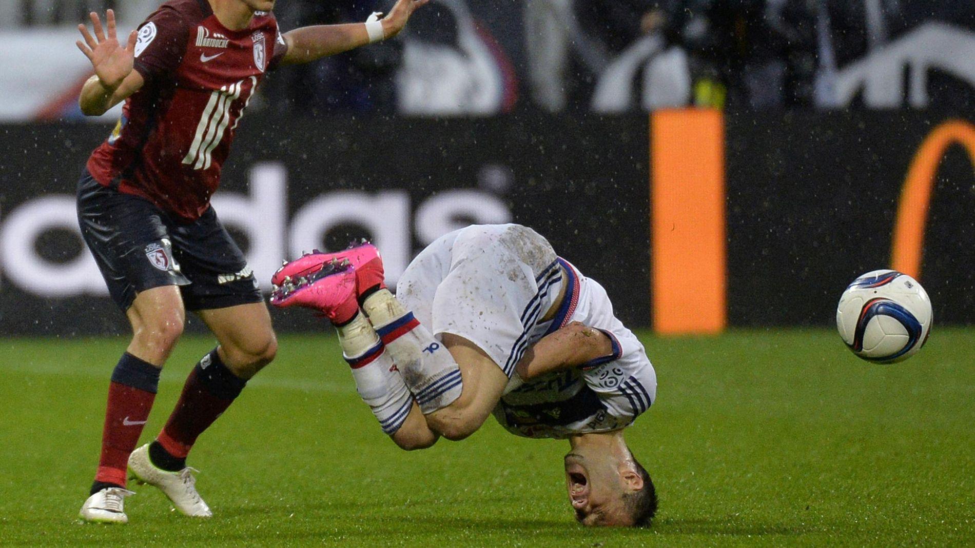 Lyon 0-0 Lille : Lyon s