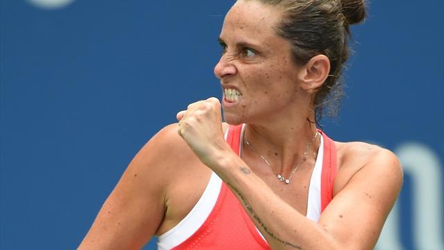 US Open 2016: Roberta Vinci-Christina McHale, highlights
