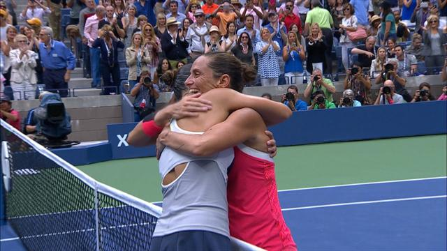 12 settembre 2015: Pennetta batte Vinci ed è campionessa degli US Open, che momento!