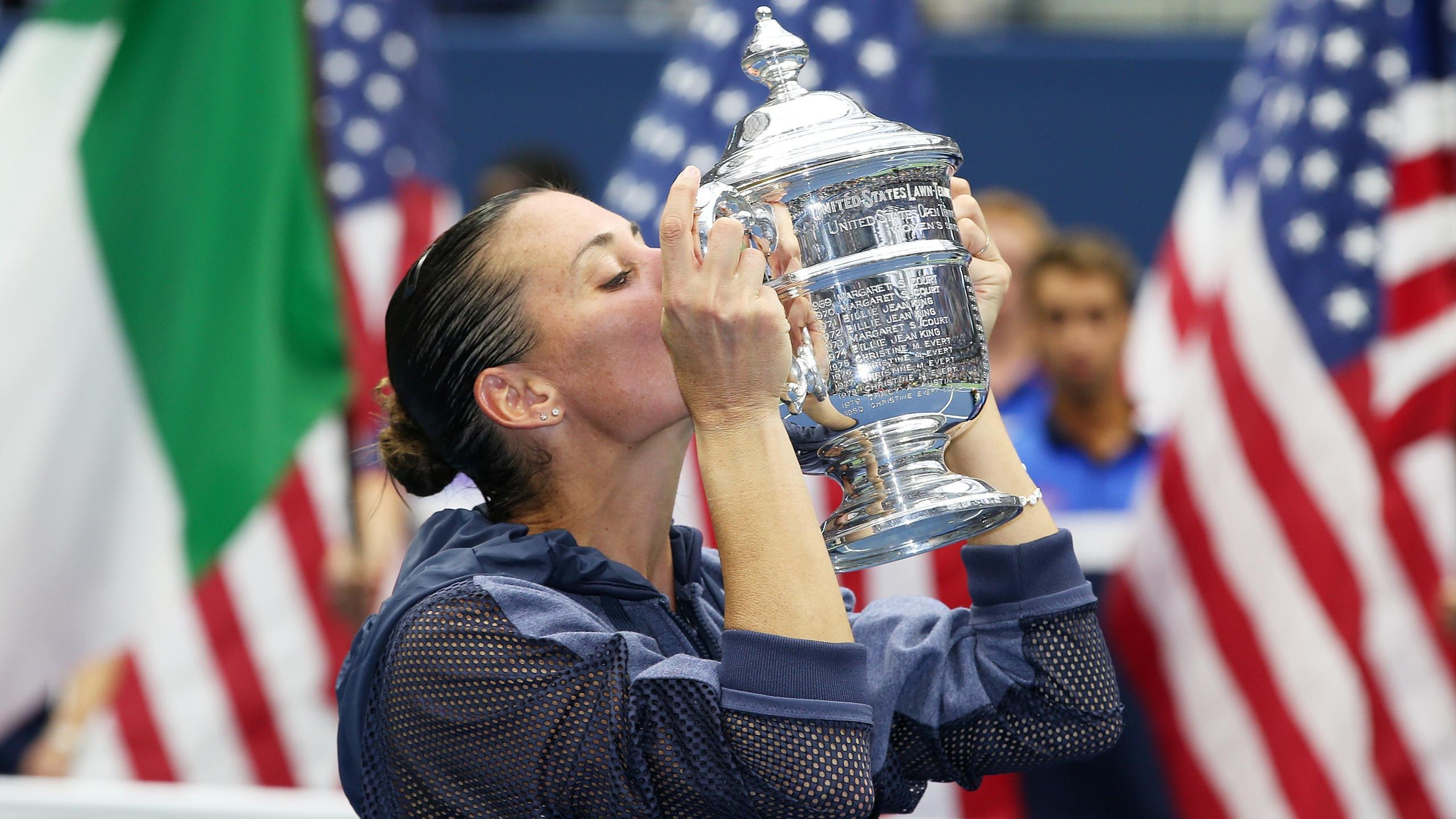 Flavia Pennetta US Open champion 2015