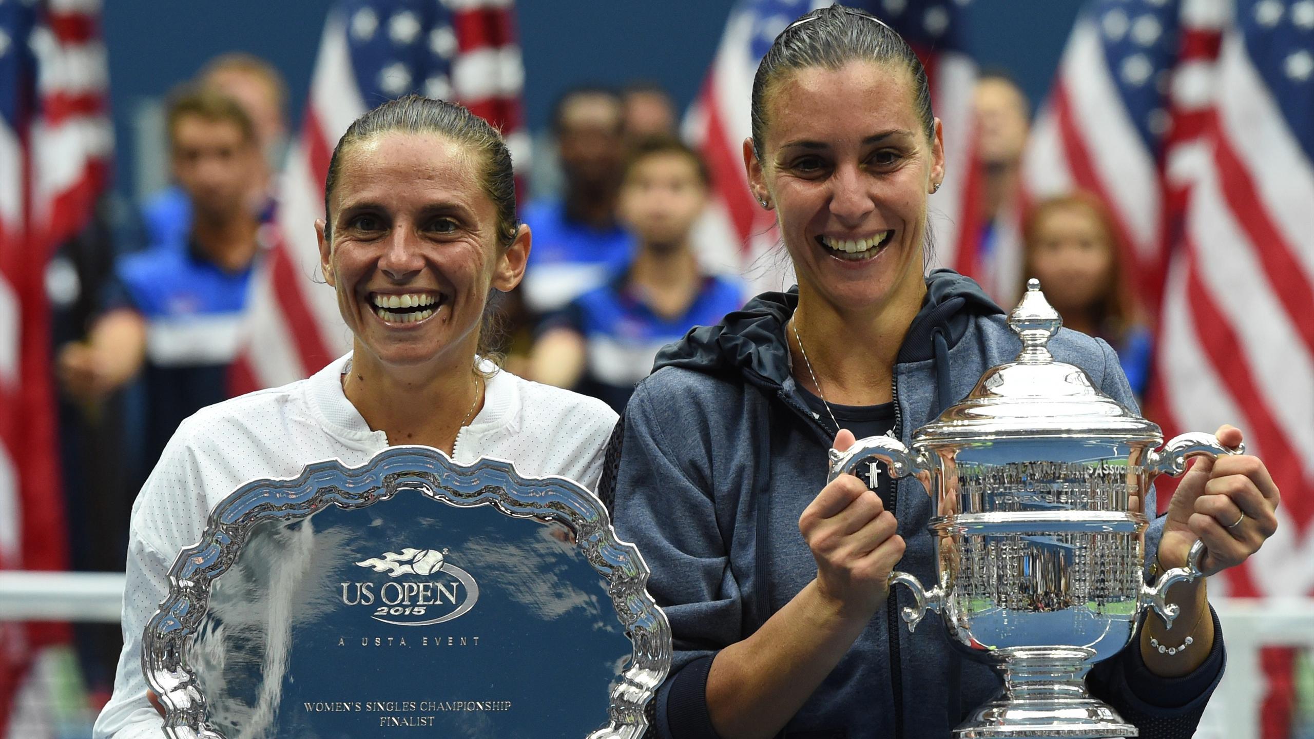 Flavia Pennetta and Roberta Vinci - US Open final 2015