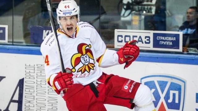 NHL- ja KHL-kiekkoa Eurosport Playerissa
