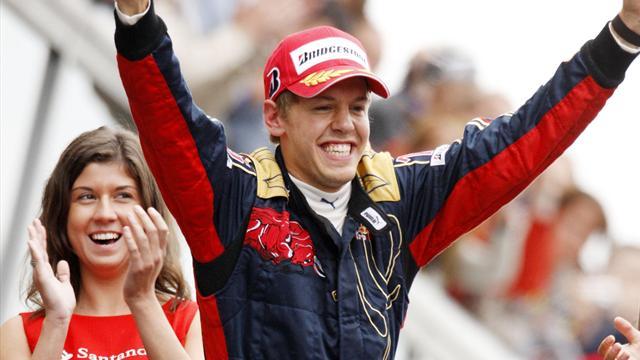 Kein Tag wie jeder andere: Sebastian Vettels erster Sieg
