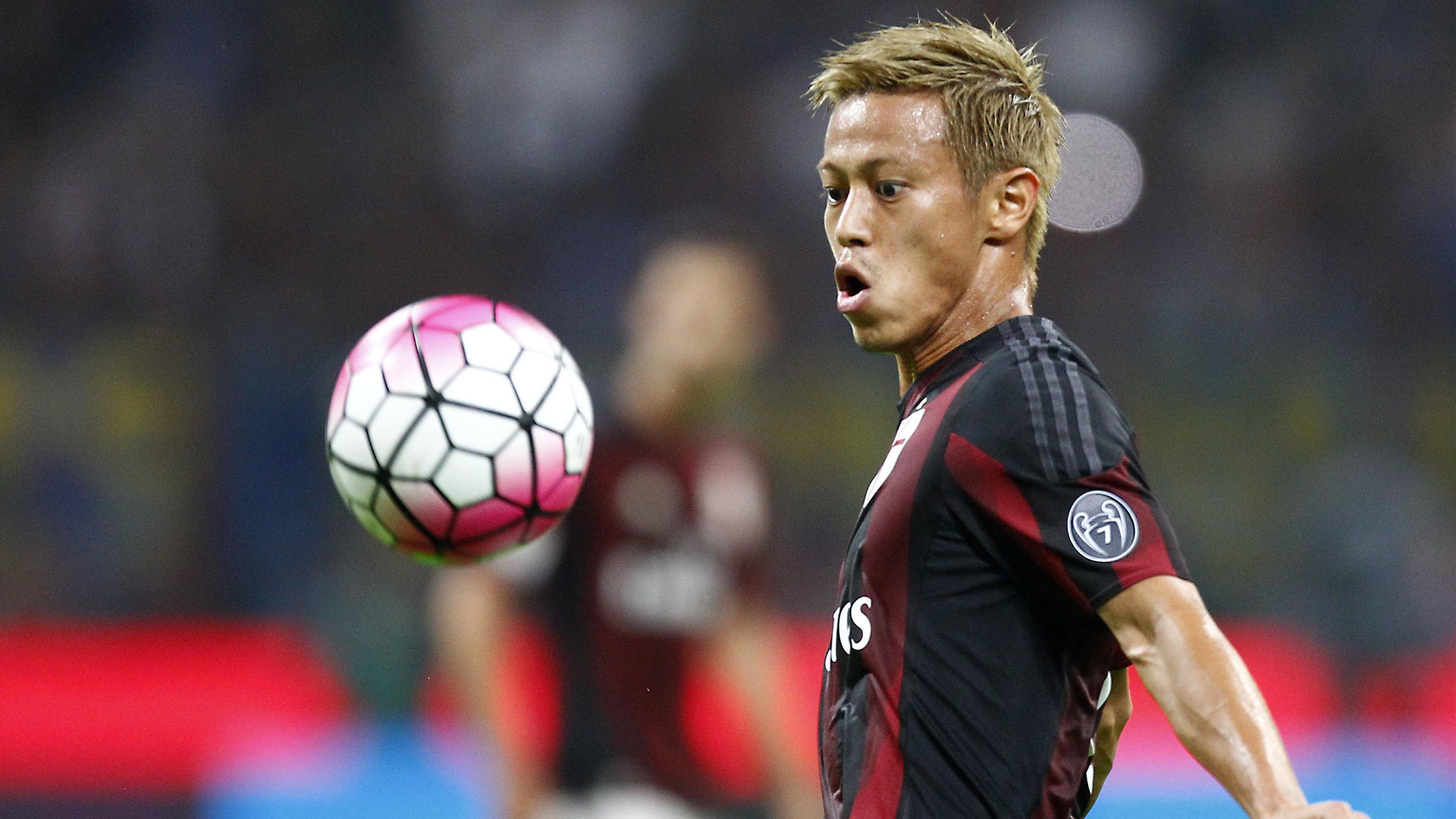 Keisuke Honda Inter Milan 2015 LaPresse