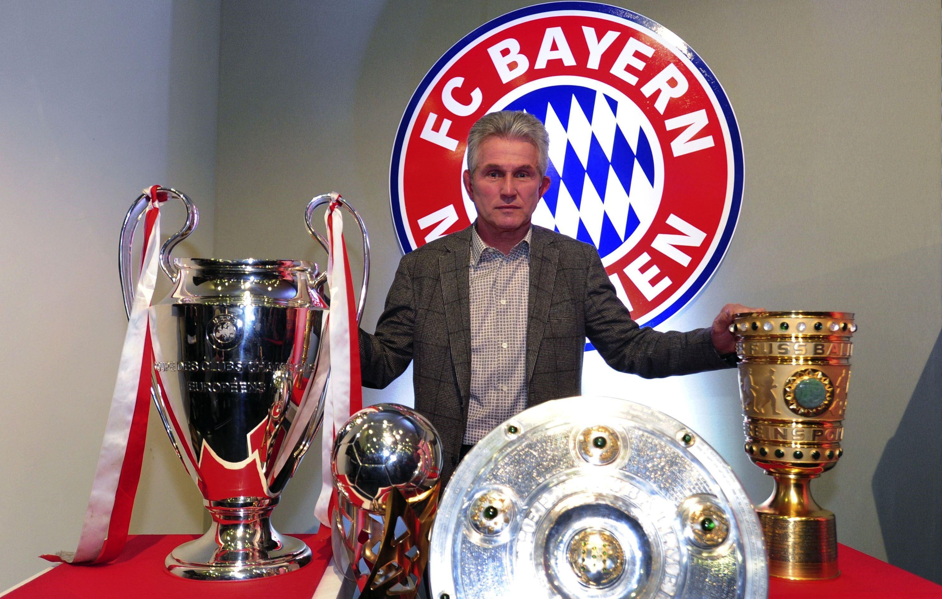 Abgeräumt: Unter Jupp Heynckes gewann Bayern 2013 alles