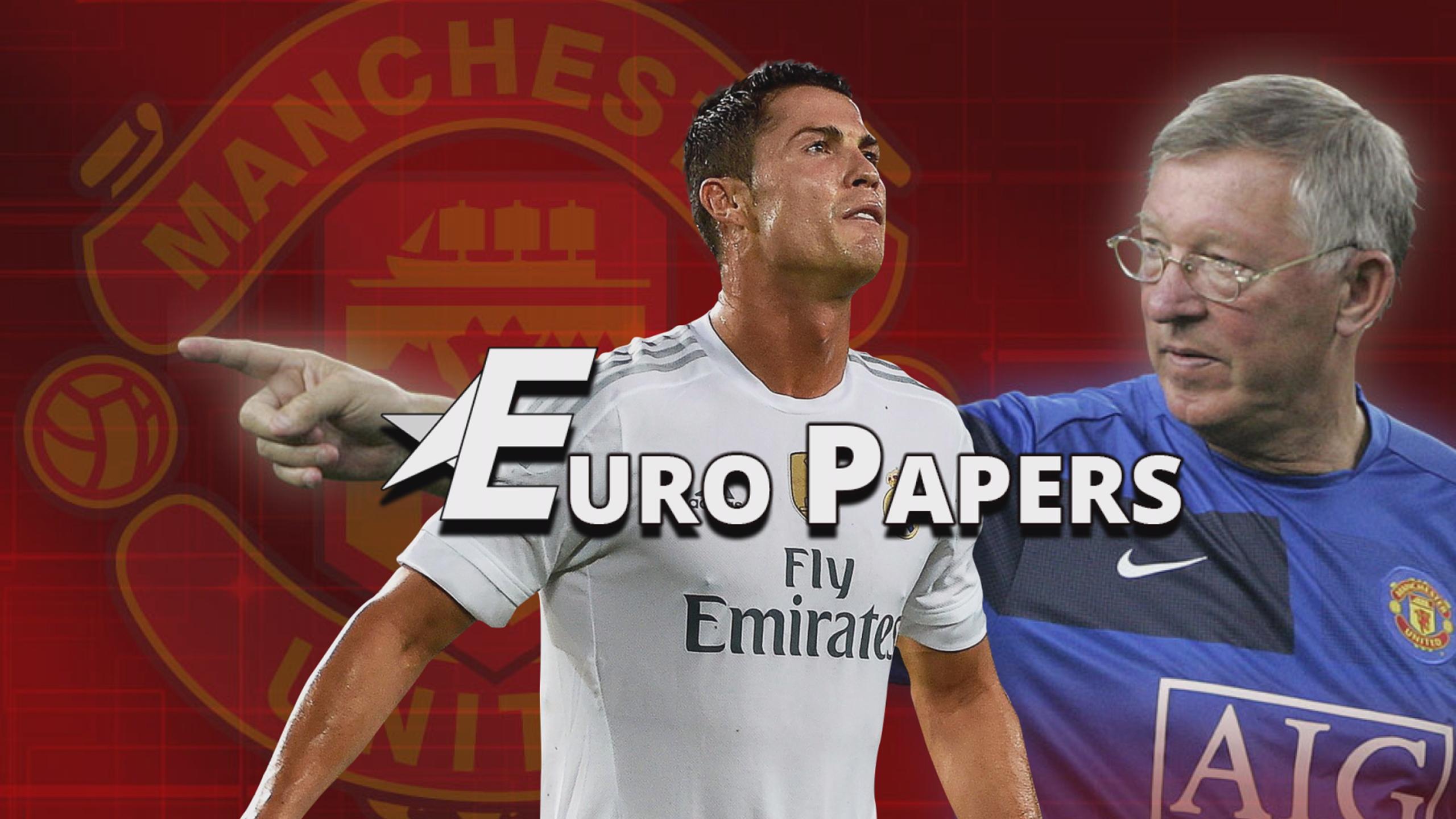 Ronaldo's secret summit with Sir Alex Ferguson - Euro Papers