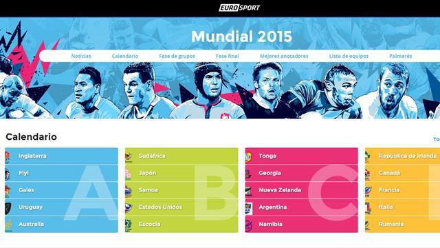 Calendario del Mundial de Rugby 2015