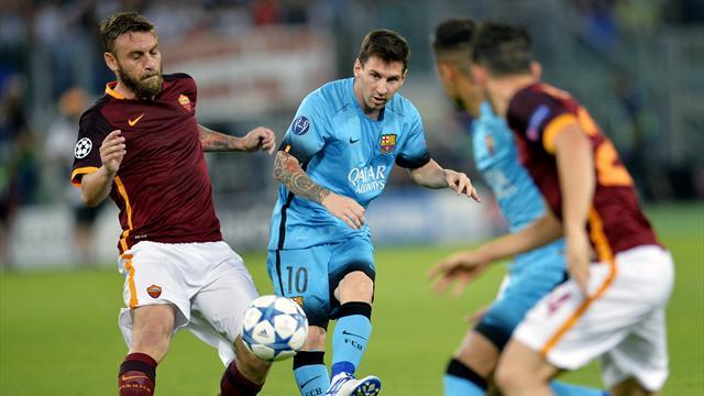 Le Barça bute sur une Roma très inspirée