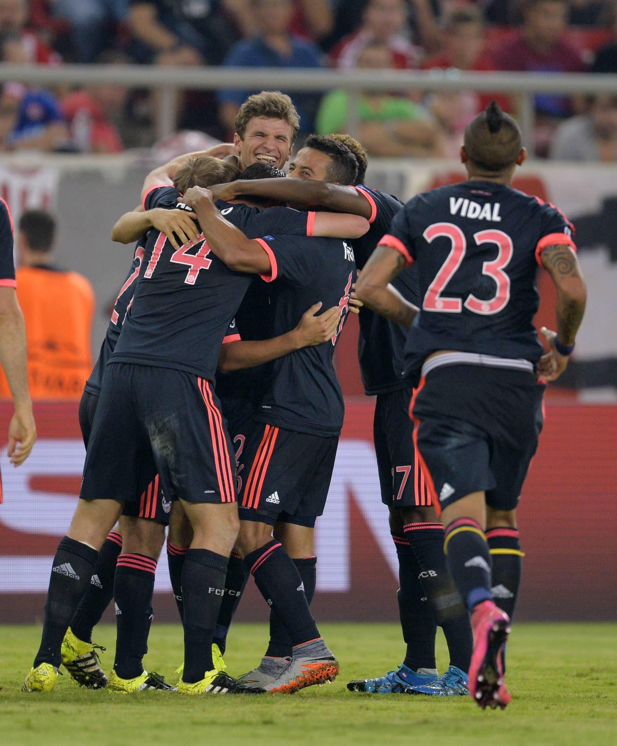 «Бавария» победила в Греции