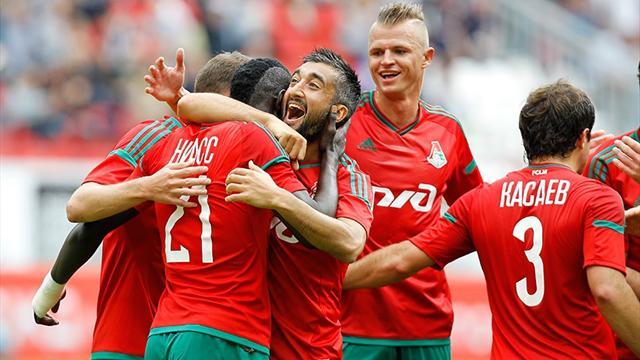 «Локомотив» одержал волевую победу над «Томью», забив 6 голов во втором тайме