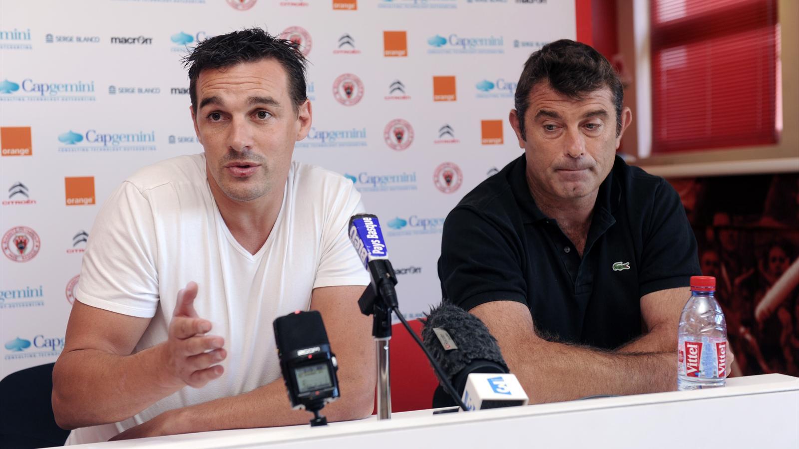 Nicolas Brusque et David Darricarrère (Biarritz) - 18 septembre 2015