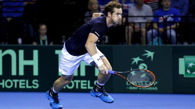 Tennis : La Grande-Bretagne et l'Australie sont dos � dos, tout comme la Belgique et l'Argentine