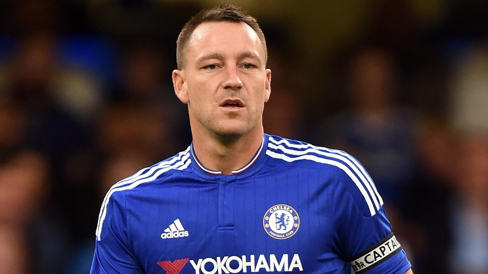 Chelsea captain John Terry left out by Jose Mourinho when fully