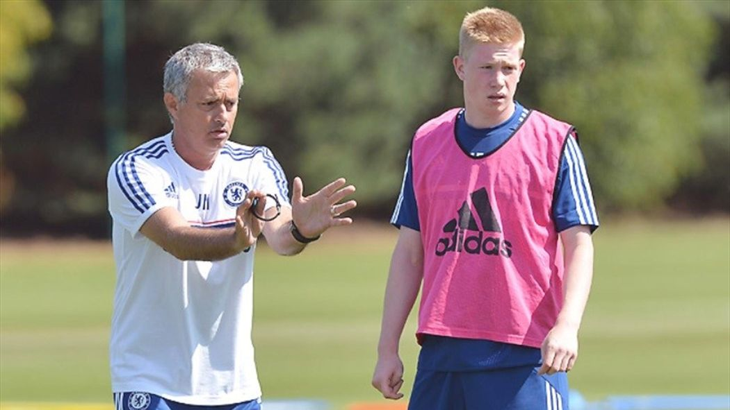 new product d4201 eb933 Jose Mourinho 'begged Chelsea not to sell Kevin De Bruyne ...