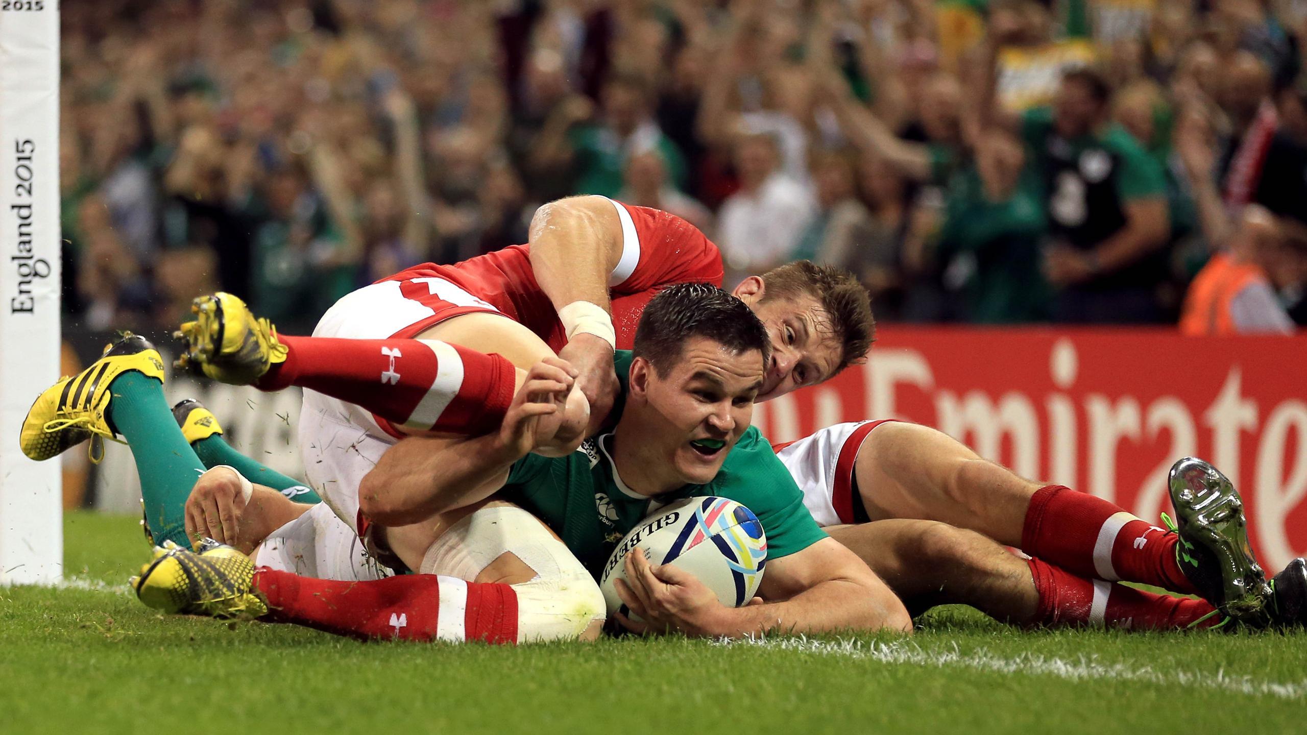 Jonathan Sexton (Irlande) face au Canada - 19 septembre 2015
