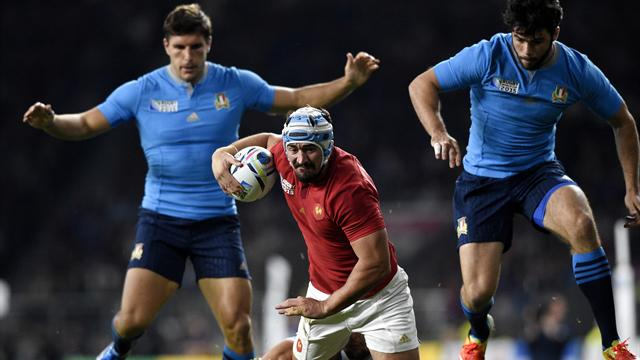Rugby World Cup 2015, France v Romania: Pool D TV details