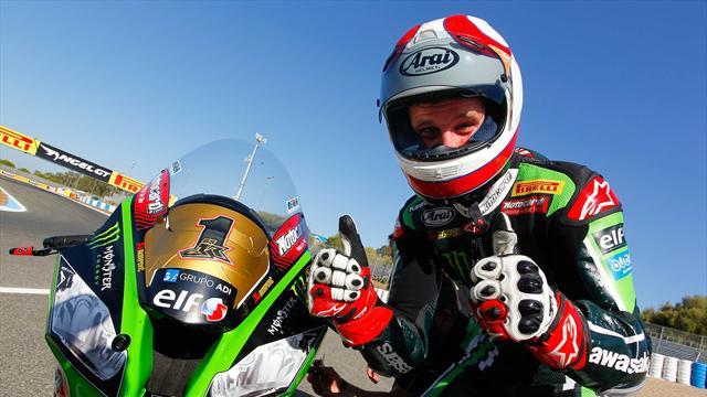 Superbike: le Britannique Jonathan Rea sacré champion à Jerez