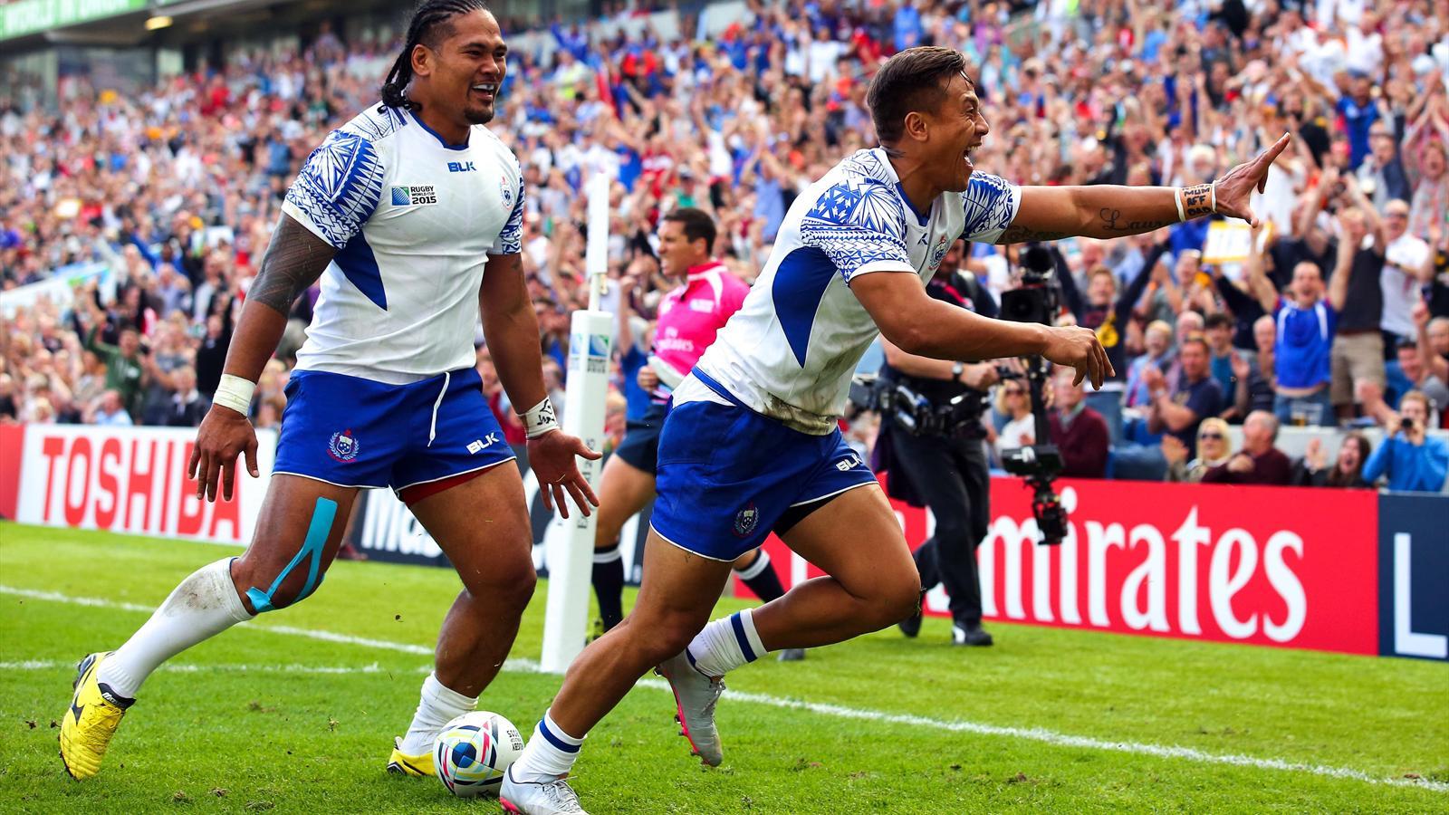 Tim Nanai Williams (Samoa) face aux Etats-Unis - le 20 septembre 2015