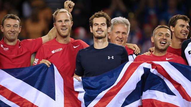 Belgium to host Davis Cup final with Great Britain on clay in Ghent