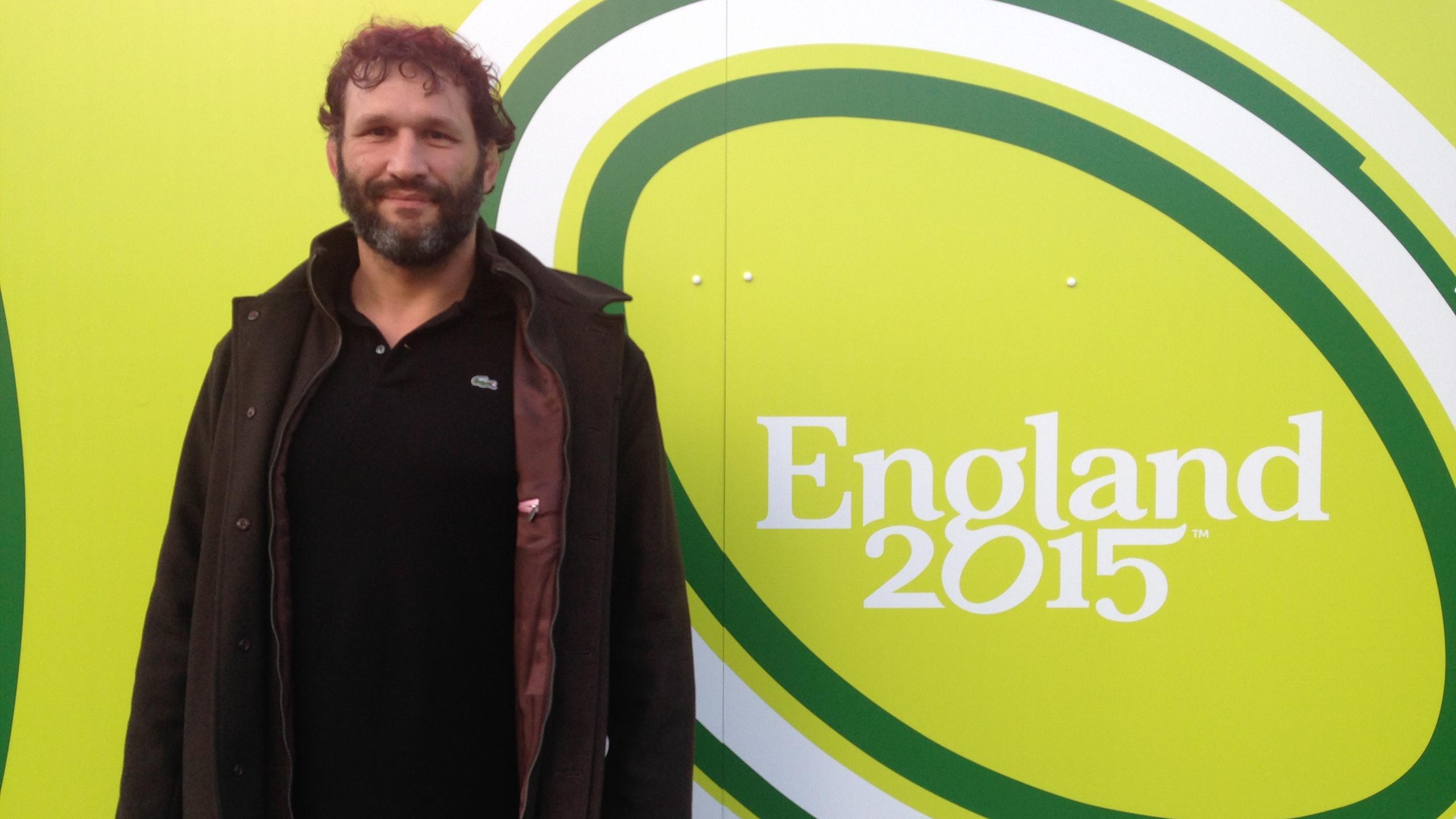 Notre consultant Lionel Nallet à Londres