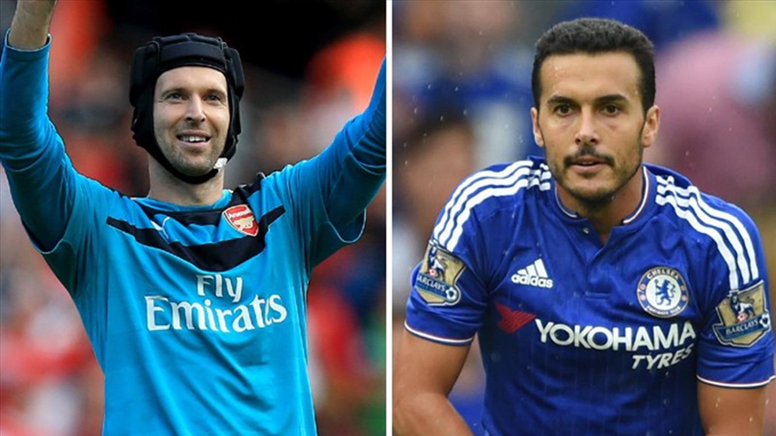 Premier League summer signings Petr Cech, Pedro and Memphis Depay