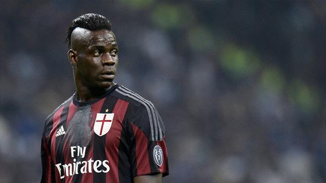 Football Italia: «Милан» не выкупит летом Балотелли у «Ливерпуля»