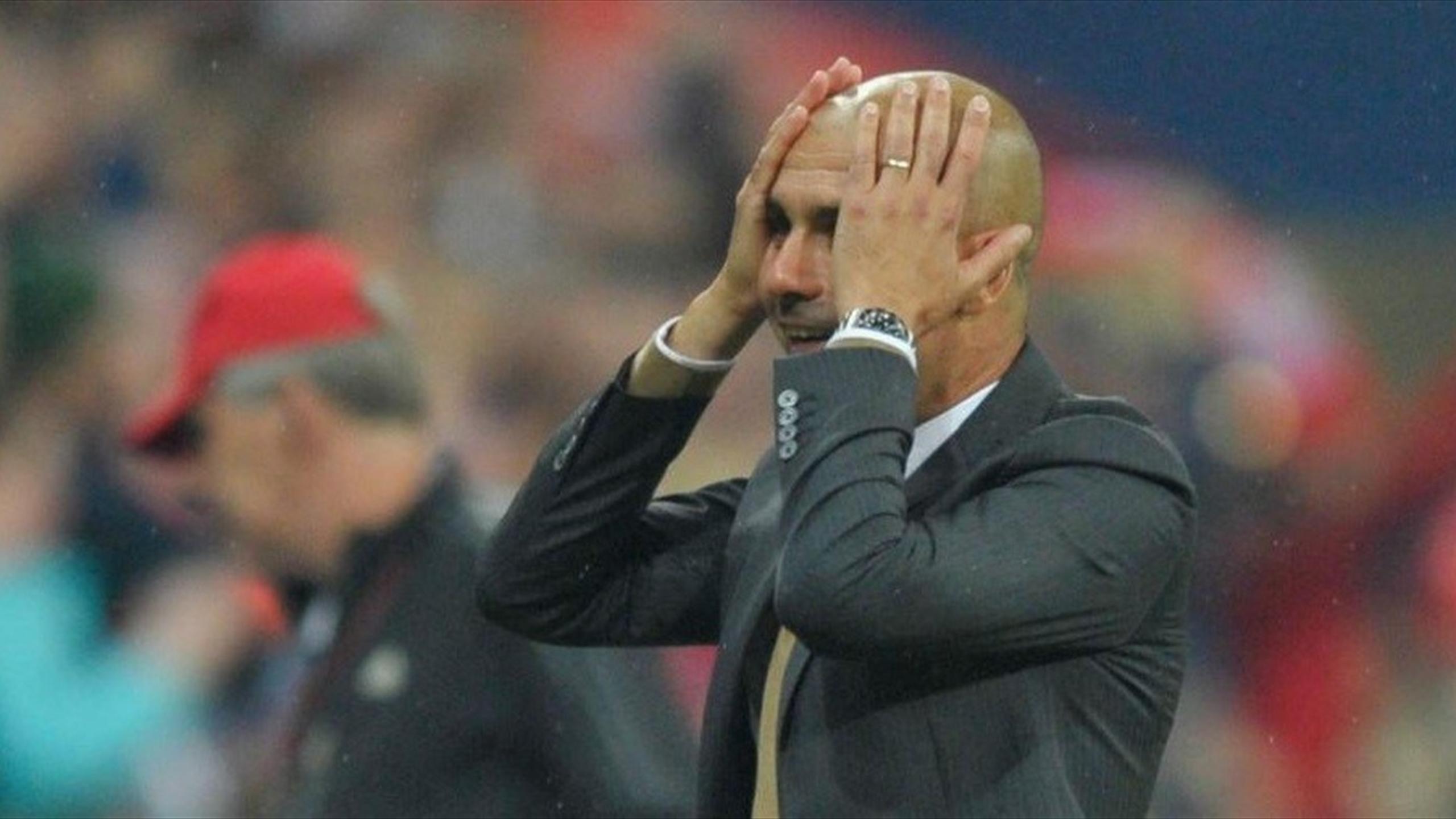 Pep Guardiola n'en est pas revenu