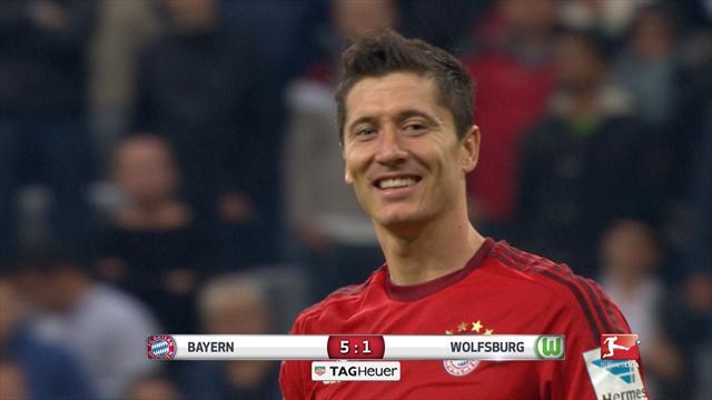 The day when: Robert Lewandowski hit 5 goals in 9 minutes…