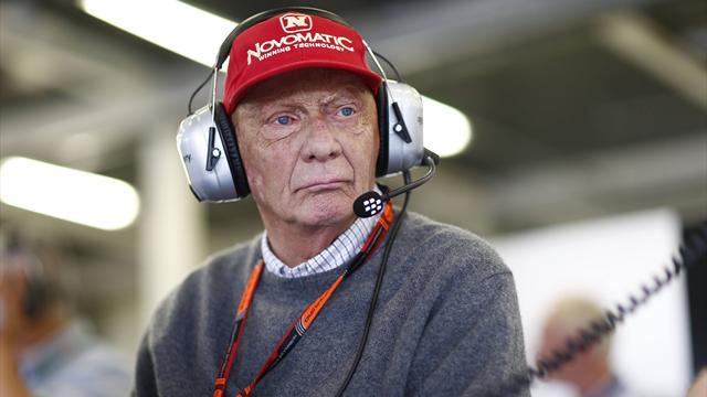 """Lauda tranquillizza la Ferrari: """"Vettel non è nei piani della Mercedes"""""""