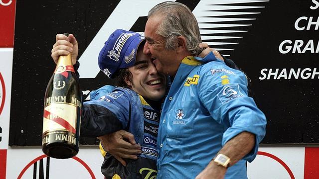"""Briatore: """"Alonso è il miglior pilota di tutti i tempi"""""""