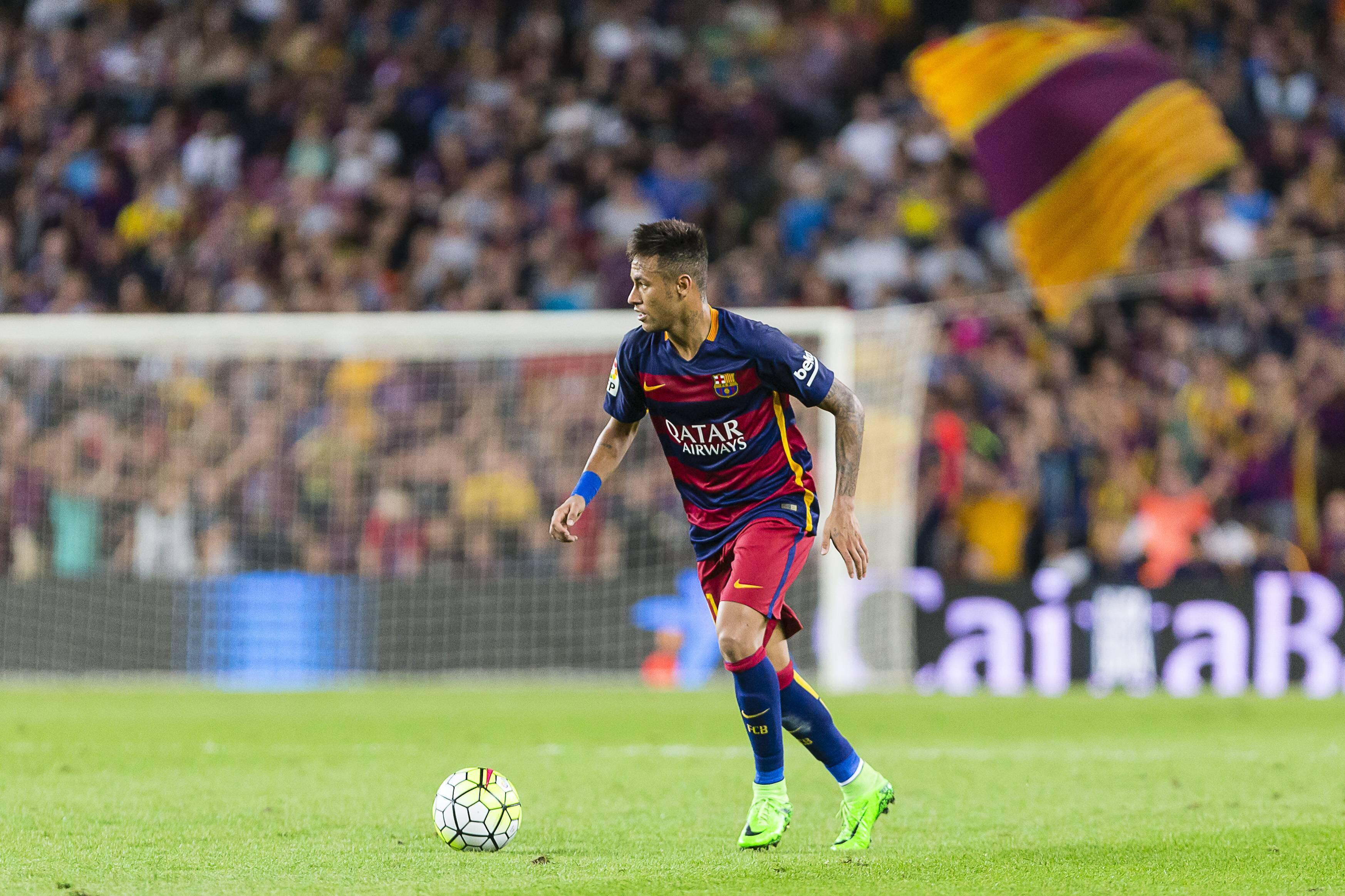 Neymar vom FC Barcelona war bei Manchester United im Gespräch