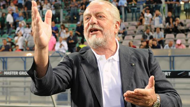 De Laurentiis sul Calciomercato del Napoli: