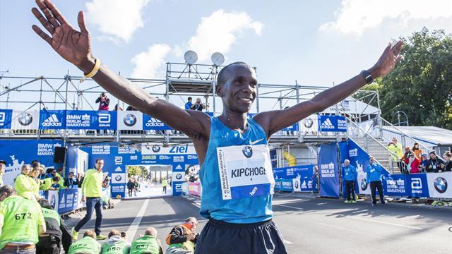 Kipchoge roi du marathon