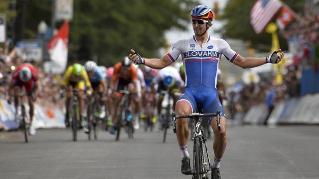 Саган выиграл групповую велогонку на чемпионате мира
