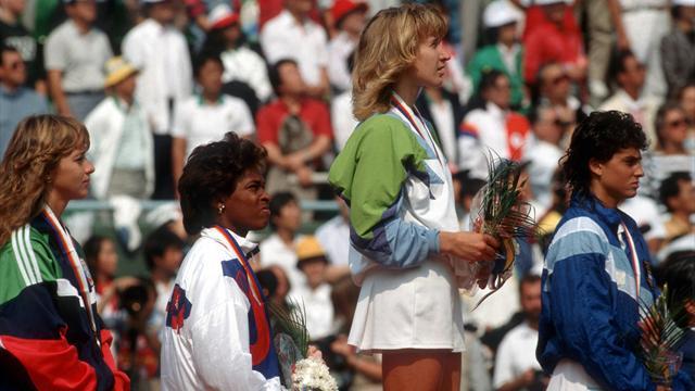 Kein Tag wie jeder andere: Steffi Graf gewinnt den Golden Slam
