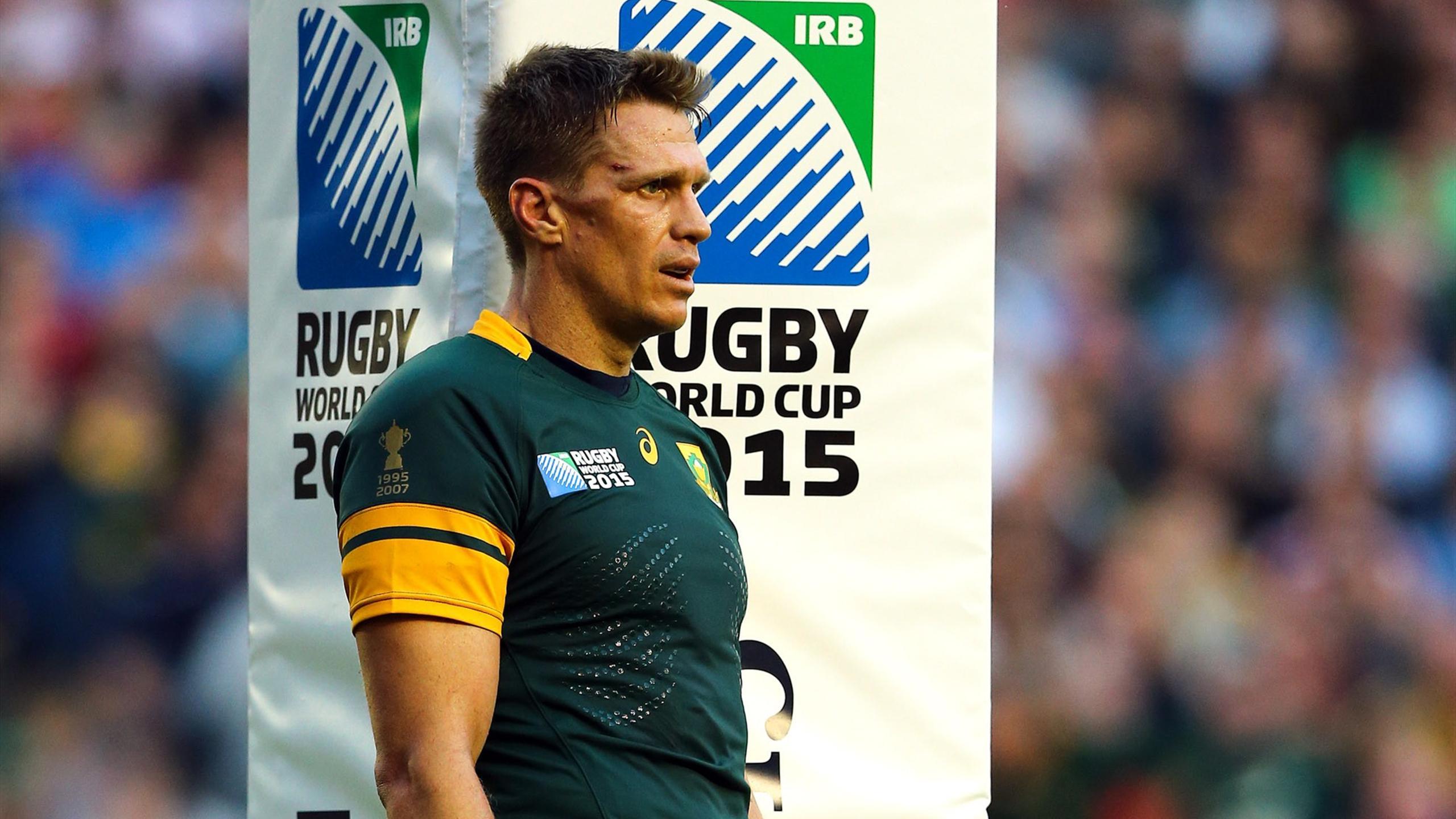 Jean de Villiers (Afrique du Sud) - septembre 2015