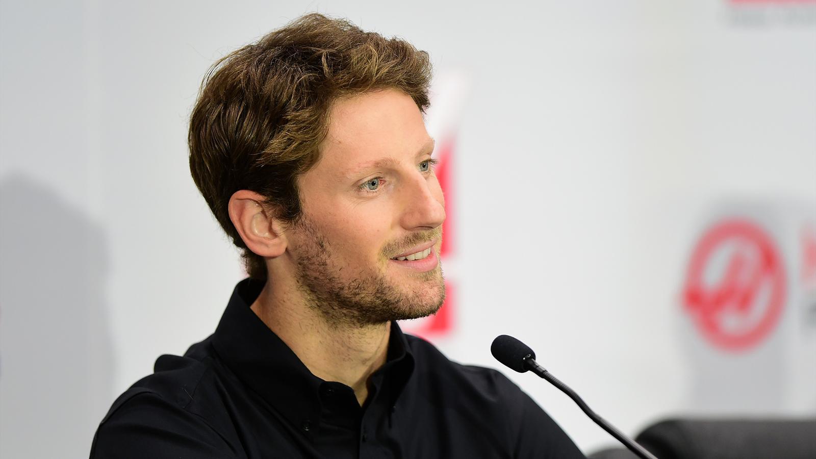 Romain Grosjean (Haas) le 29 septembre 2015 à Kannapolis