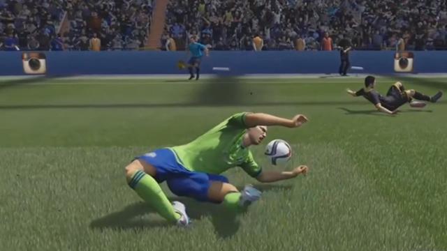 Jambe à 90°, super glissade et gardiens désorientés : les premiers bugs les plus drôles à FIFA 16