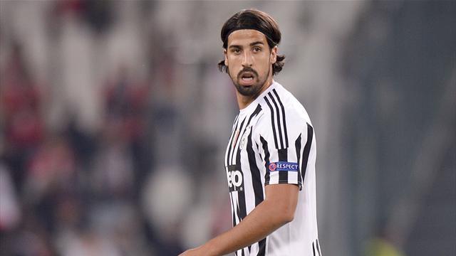 Juventus, tegola Khedira: il tedesco fuori un mese per infortunio