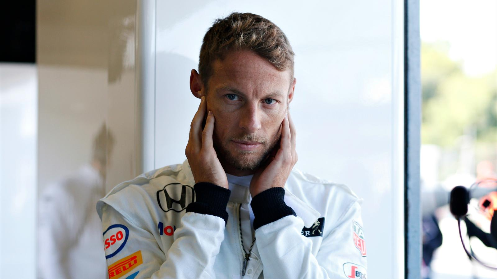 Jenson Button (McLaren) au Grand Prix d'Italie 2015