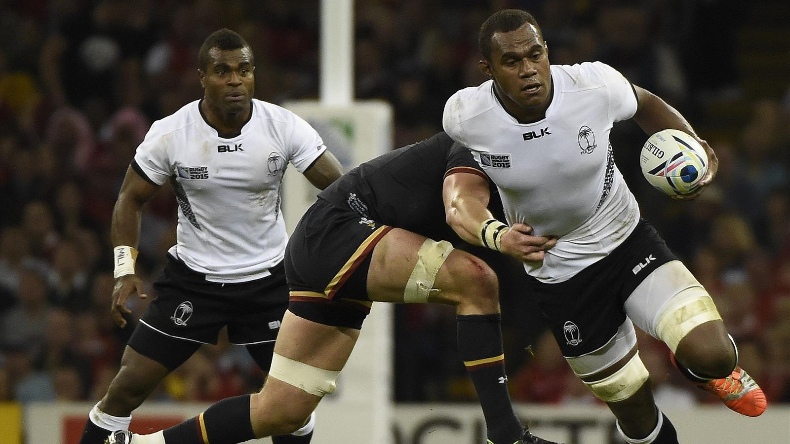 Leone Nakarawa (Fidji) face au pays de Galles - 1er octobre 2015