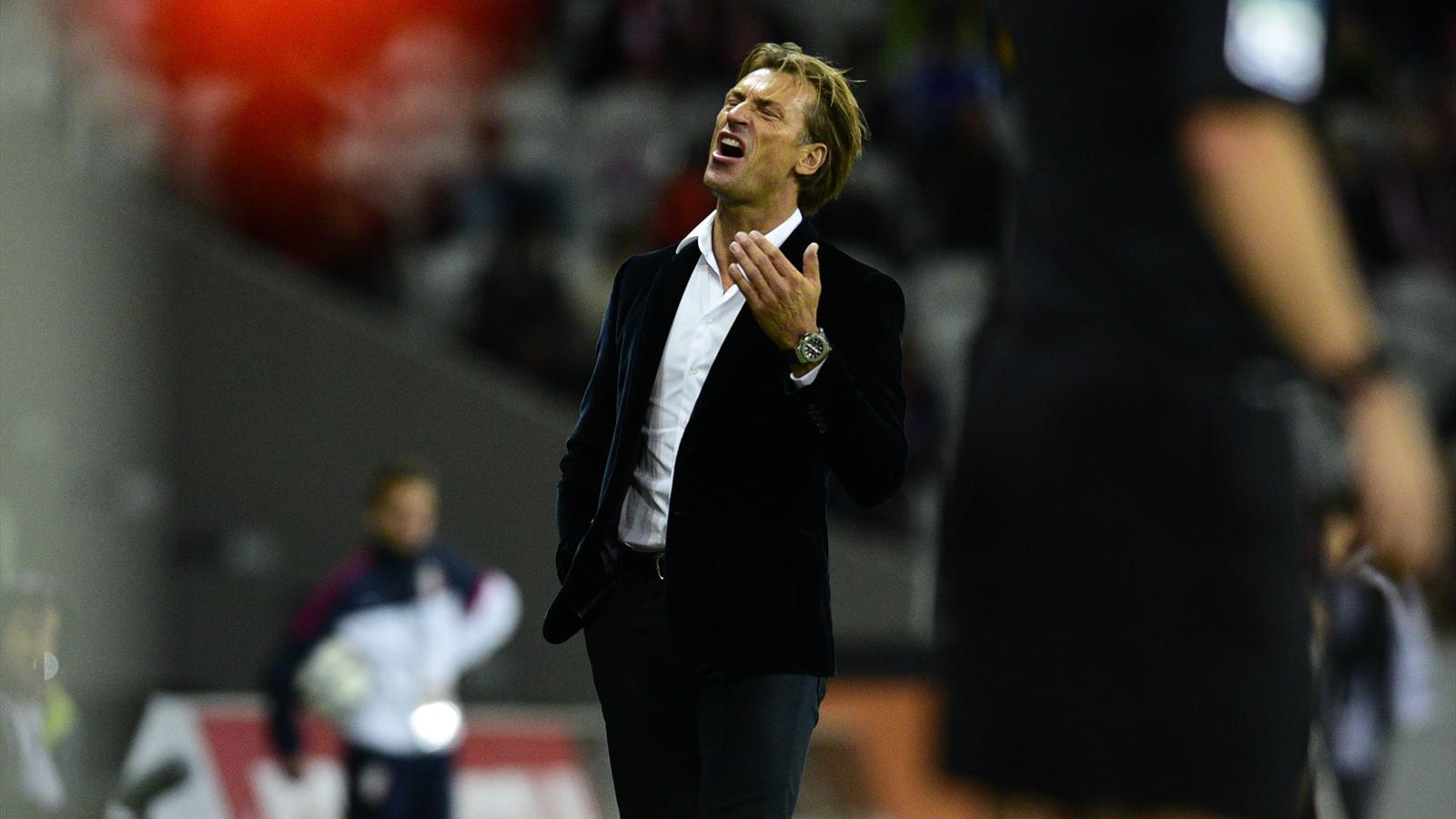 Hervé Renard n'est plus l'entraîneur de Lille