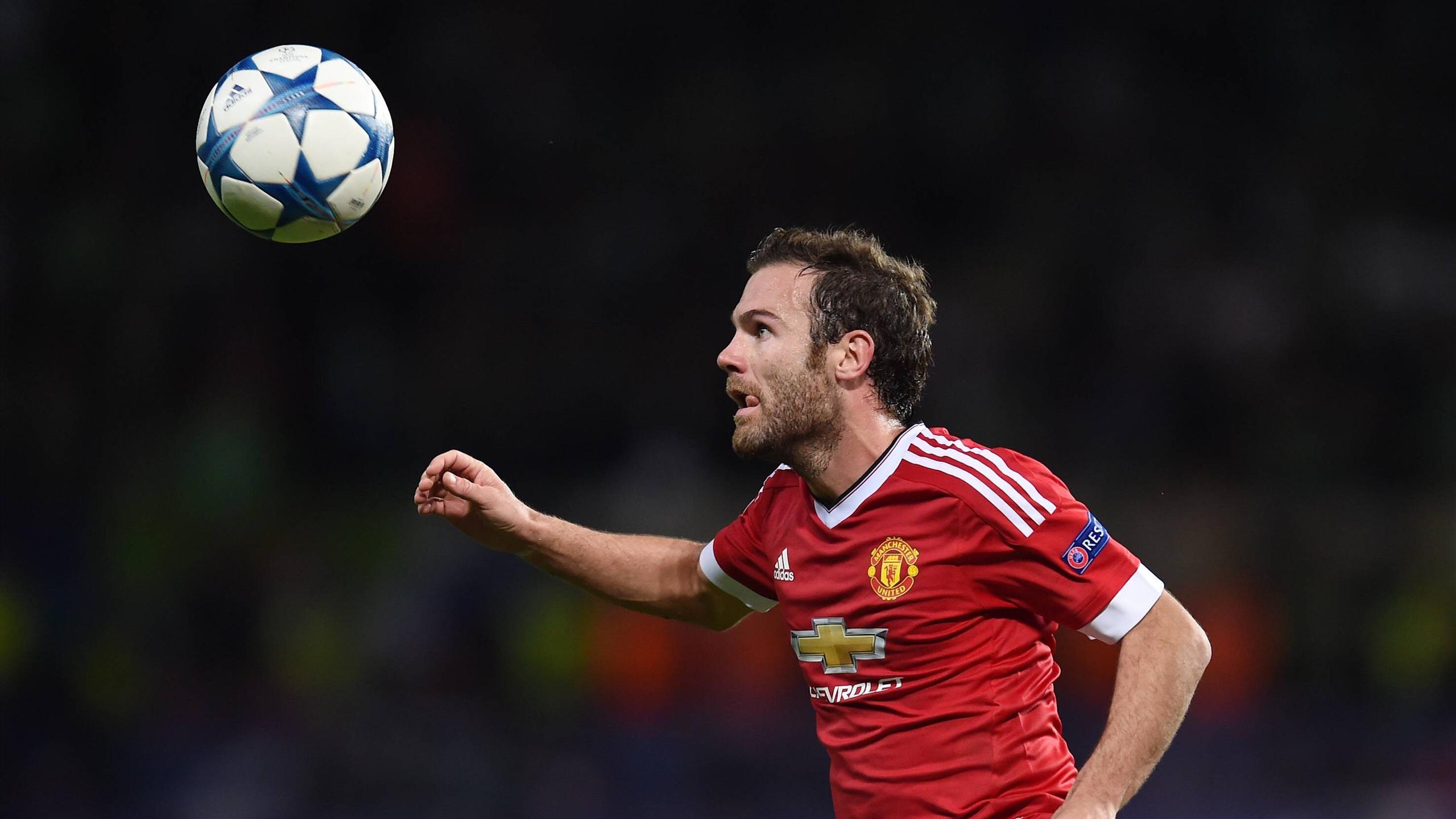 Juan Mata faces Wolfsburg