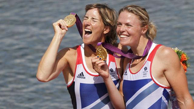 #Returnto2012 – Watkins and Grainger hold off rivals to win double sculls gold