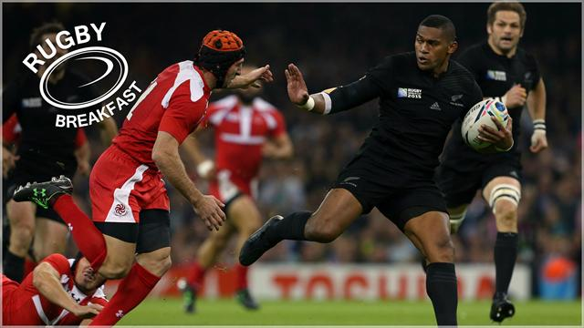 Les All Blacks qualifiés, l'ironie de PSA, l'Angleterre joue sa peau... Le Rugby Breakfast du jour