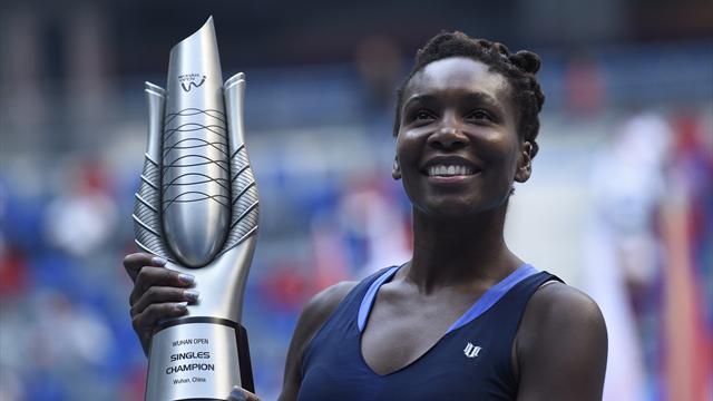 Venus remporte son 47e titre sur le circuit