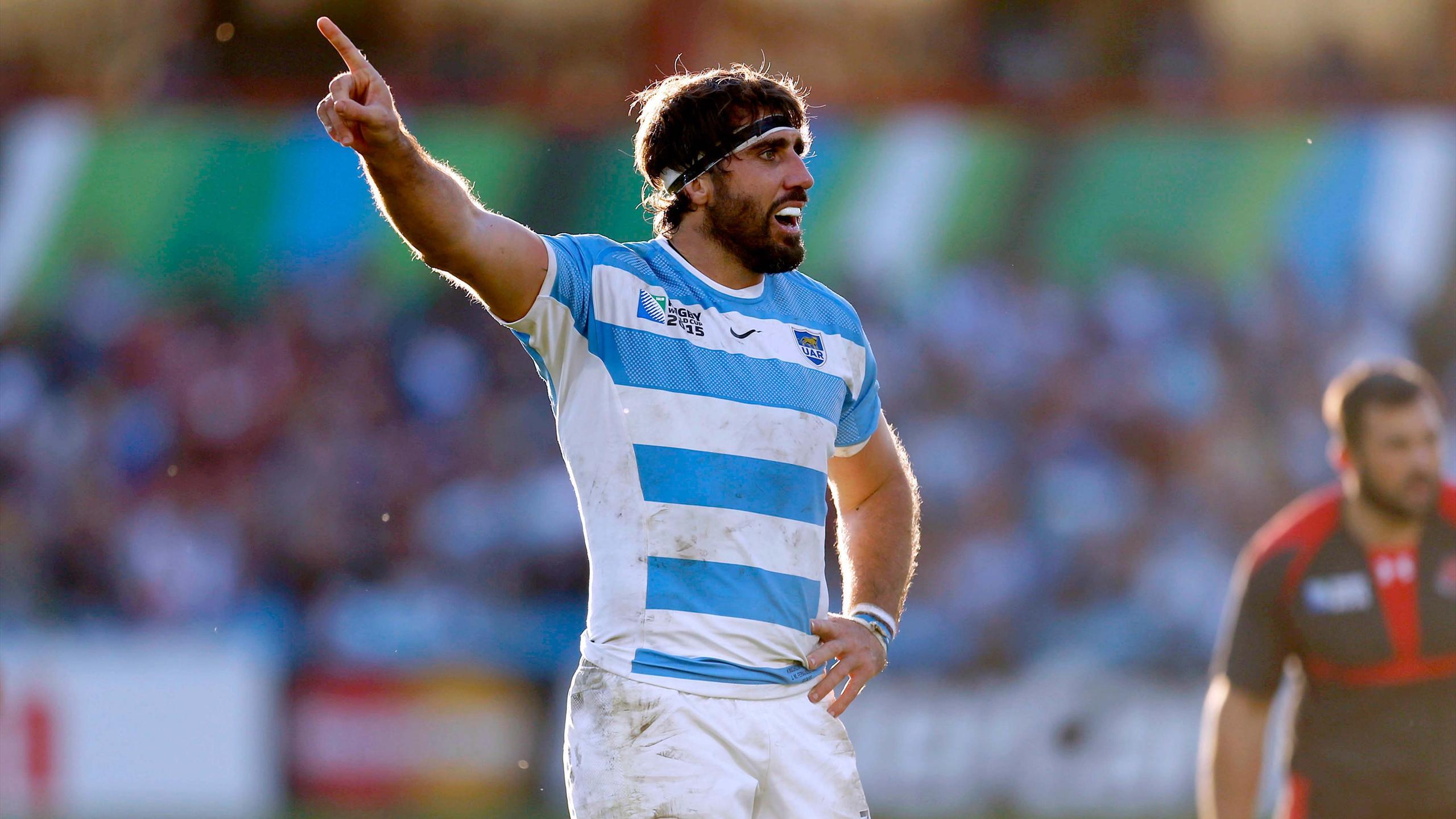 Juan Martin Fernandez Lobbe, le troisième ligne de l'Argentine